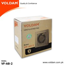 Voldam Glass Exhaust Fan 8 inch