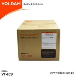 Voldam Mixed Flow In Line Blower/Exhaust Fan